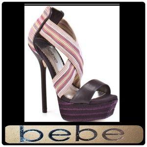 🔥 Bebe Natasha Platform stiletto heels 🔥